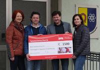 Scheckübergabe SPD Benefizveranstaltung